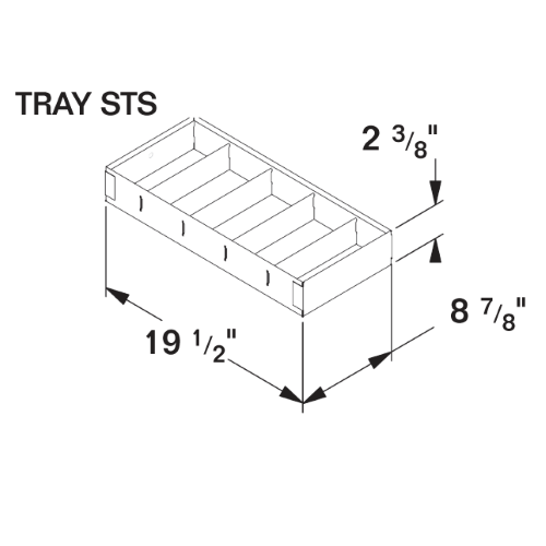 TRAY STS